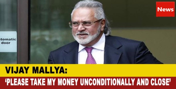 Vijay Mallya asks govt to accept loan repayment offer
